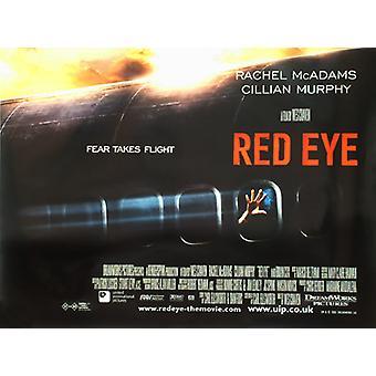 Red Eye alkuperäinen elokuva teatteri juliste