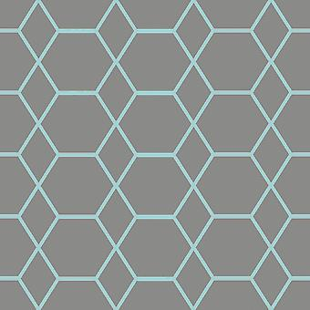 Casca Geometric Wallpaper Muriva