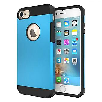 Iphone 7/8 4.7 tough armor shell protection case blue