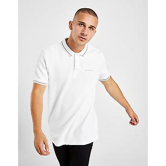 Nuovo Mckenzie Uomini's Henry Short Sleeve Polo Camicia Bianco