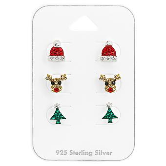 Christmas - 925 Sterling Silver Sets - W38082x