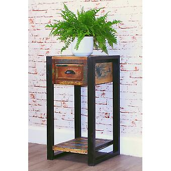Urban Chic Plant Stand/Lamp Table Brown - Baumhaus