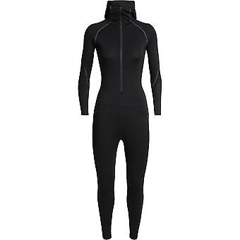 Icebreaker Women's Zone One Sheep Suit - Black