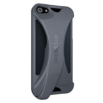 Coque Ampjacket Kubxlab Grise Pour Apple Iphone 5
