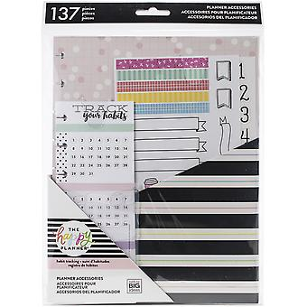 Happy Planner Medium Accessories 137/Pkg-Happy Journal Accessories