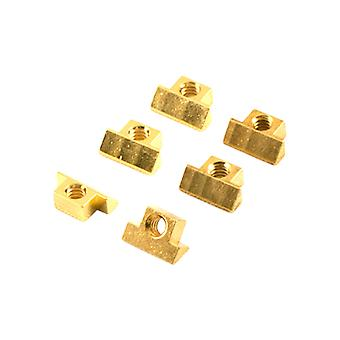 Kluson Cnc Brass, Gold Plated (set Of 6)
