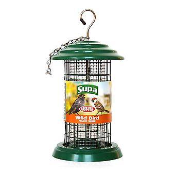 Supa Easy Fill Plastic Fortress Peanut Feeder