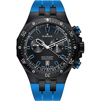 Edox 10109 37NBUCA NIBU Delfin Heren Horloge