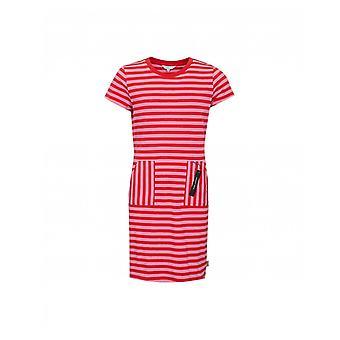 Lille Marc Jacobs Stribet Jersey Logo Dress