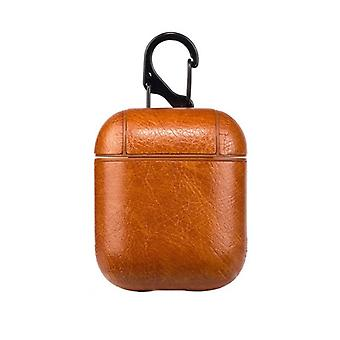 Protective case for Airpods, Brown
