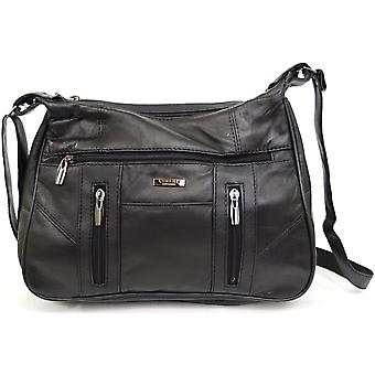 Donna / Womens Soft Nappa Leather spalla / borsa