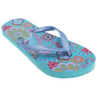 Kinder/Mädchen Blumendruck Flip Flops