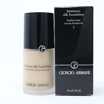 Giorgio Armani Luminous Silk Foundation 1 uncji /30ml Nowy z pudełkiem