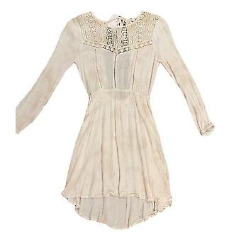Amuse daisy vintage dress - white