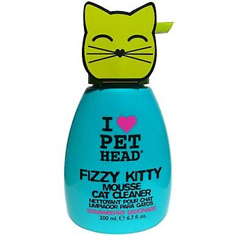 Pet Head Fizzy Head Pet Cat Kitty Mouse Cleaner 190 Ml