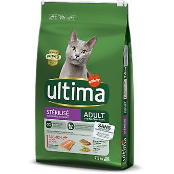 ウルティマ滅菌サーモン & 大麦 (猫、猫食品、乾燥食品)
