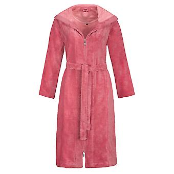 Vossen 141744-021 Women's Palermo Maroon Pink Dressing Gown Robe