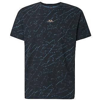 Oakley Mens Broken Glas korte mouw Katoen T-shirt