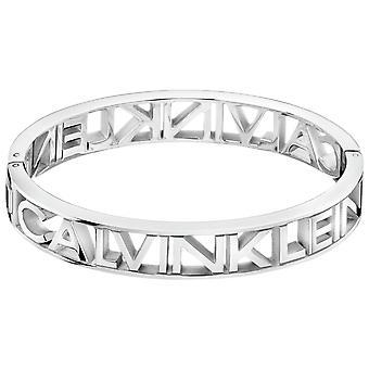 Calvin Klein Mania Zilveren Roestvrij Stalen Dames Armband Sieraden KJCSMD00010M