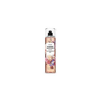 (2 Pack) Bath & Body Works Almond Blossom Fine Fragrance Mist 8 fl oz / 236 ml