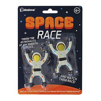 Space Race Squidgy Slime Sticky Astronauti Corsa giù il gioco muro per i bambini