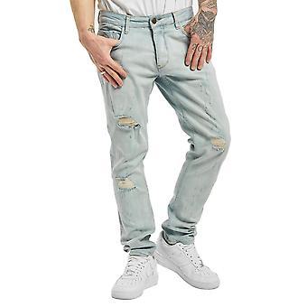 Men's Slim Fit Jeans Hever Pants Jogger Vintage DEF Casual Urban Denim Destroyed