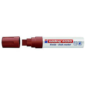 edding-4090 chalk marker brown 5PC 4-15 mm / 4-4090007