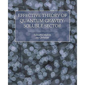 Effektiv teori om Quantum Gravity opløselige sektor af Mishra & Subodha