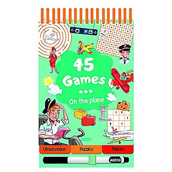 45 Games on the Plane by Auzou Publishing - 9782733861882 Book