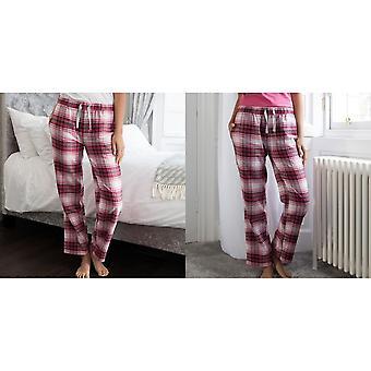 Comfy Co Womens/Ladies Gals Flannel Pyjama Pants