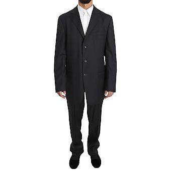 Z ZEGNA Gray Two Piece Three Button BRUNO CUOMO Exclusive Suit -- KOS1196208