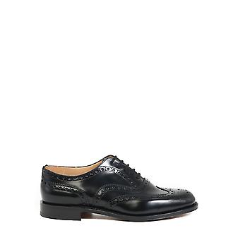 Church's Eeb2649xvf0aab Men's Black Leather Lace-up Shoes