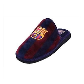 Pokojové pantofle Fútbol Club Barcelona Andinas 799-50 Blue Purple Děti&s/38