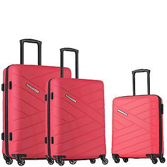 travelite Bliss Kuffert Set 3-delt S-M-L, Pink