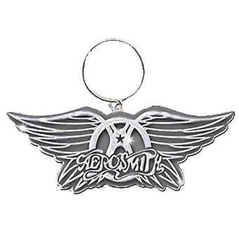 Aerosmith Wallet et keyring Gift set Classic band Logo new official