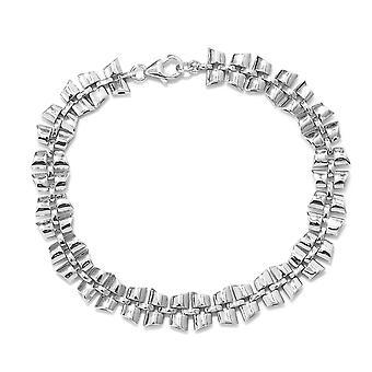 """RACHEL GALLEY Chain Bracelet voor Women Sterling Silver Size 8"""""""