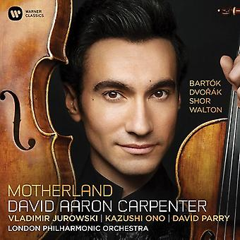 Carpenter*David Aaron - Motherland: Dvorak Bartok Shor Walton [CD] USA import