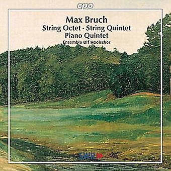 M. Bruch - Max Bruch: Quinteto para Piano; Octeto de cuerdas; Quinteto de cuerda [CD] USA importar