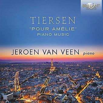 Jeroen Van Veen - Tiersen: Pour Amelie/Piano Music [CD] USA import