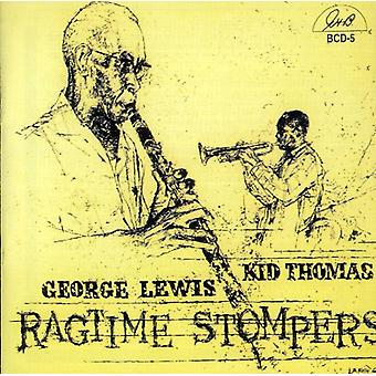 Lewis/Thomas - Ragtime Stompers [CD] USA import