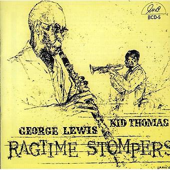Lewis/Thomas - importação EUA Ragtime Stompers [CD]