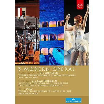 Festival de Salzburg 3 óperas modernas [DVD] los E.e.u.u. la importación
