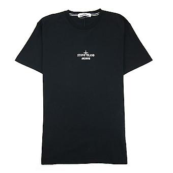 Stone Island Archivio Project T Shirt Zwart V0029