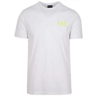 EA7 White Reverse Logo T-Shirt