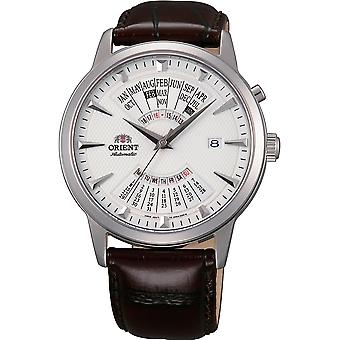 Orient Contemporary Watch FEU0A005WH - Leather Gents Automatic Analogue