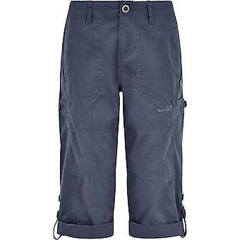 Weird Fish Women's Salena ¾ Length Trousers Navy