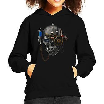 Alchemie necronaut Kid ' s Hooded Sweatshirt