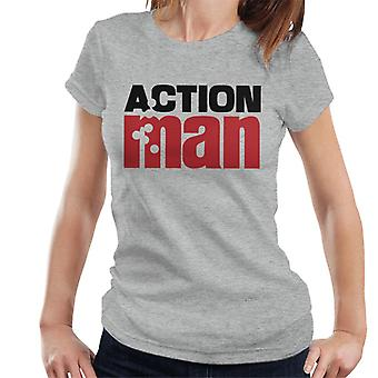 Action Man Logo Bullets Women's T-Shirt