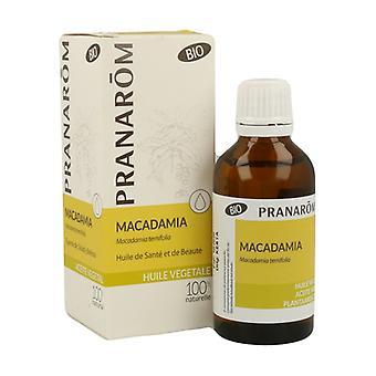 Macadamia Vegetal Oil 50 ml of oil