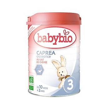 Senior milk Caprea 3 - from 10 months Organic 900 g of powder